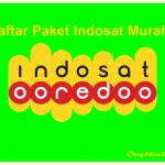 Daftar Harga Paket Internet Indosat Termurah 2018