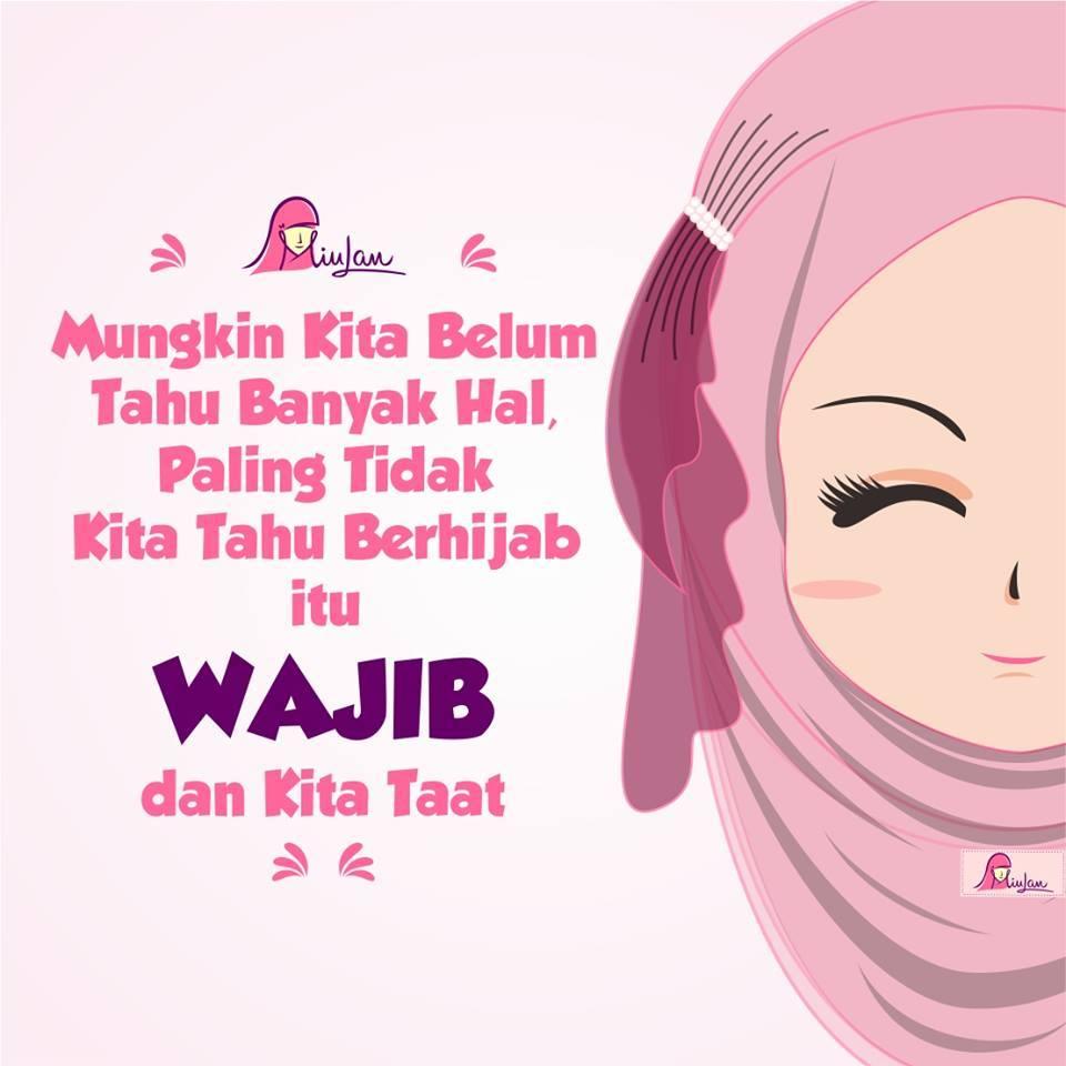 75 Gambar DP BBM Muslimah Syari Berhijab Dan Cantik Gregblondin