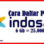 Cara Daftar Paket Internet Indosat 25 Ribu Perbulan
