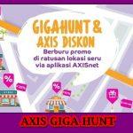 Cara Mendapatkan Kuota Gratis Axis Giga Hunt 2018
