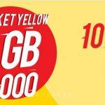 Cara Daftar Paket Yellow Indosat 1GB 1 Ribu