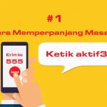 Cara Perpanjang Masa Aktif Gratis Indosat Ooredoo