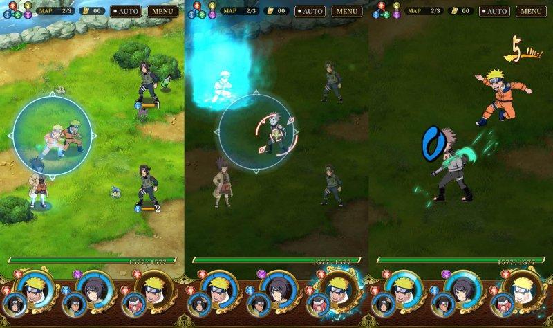download game ultimate ninja blazing mod apk versi terbaru