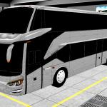 Download Livery BUSSID SR2 Double Decker XDD Kualitas Jernih